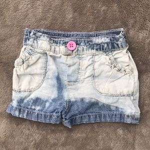 12 month custom denim jean shorts